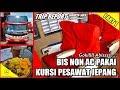 """TRIP - Naik BIS NON AC TERMEWAH ?? PO.Raya """"Nona Reborn"""" Jakarta-Solo Pakai KURSI PESAWAT [PART 1]"""