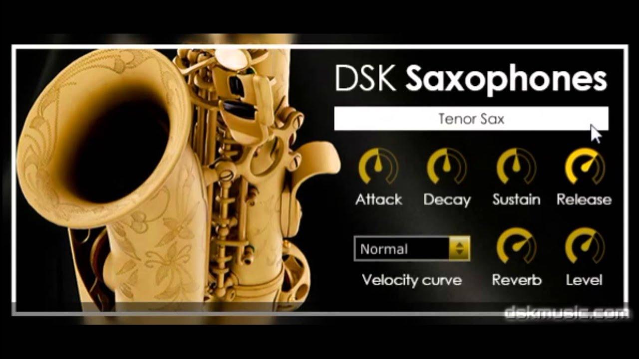 Free VST download DSK Saxophones : DSK Music