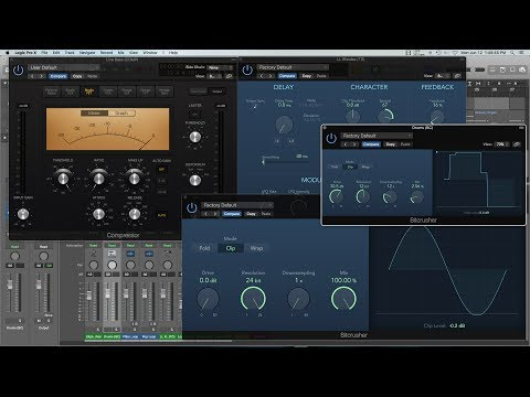 Analog Tape Saturation Secrets - Logic Pro X