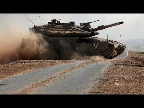 Меркава - лучший танк в мире! Основной боевой танк Израиля.