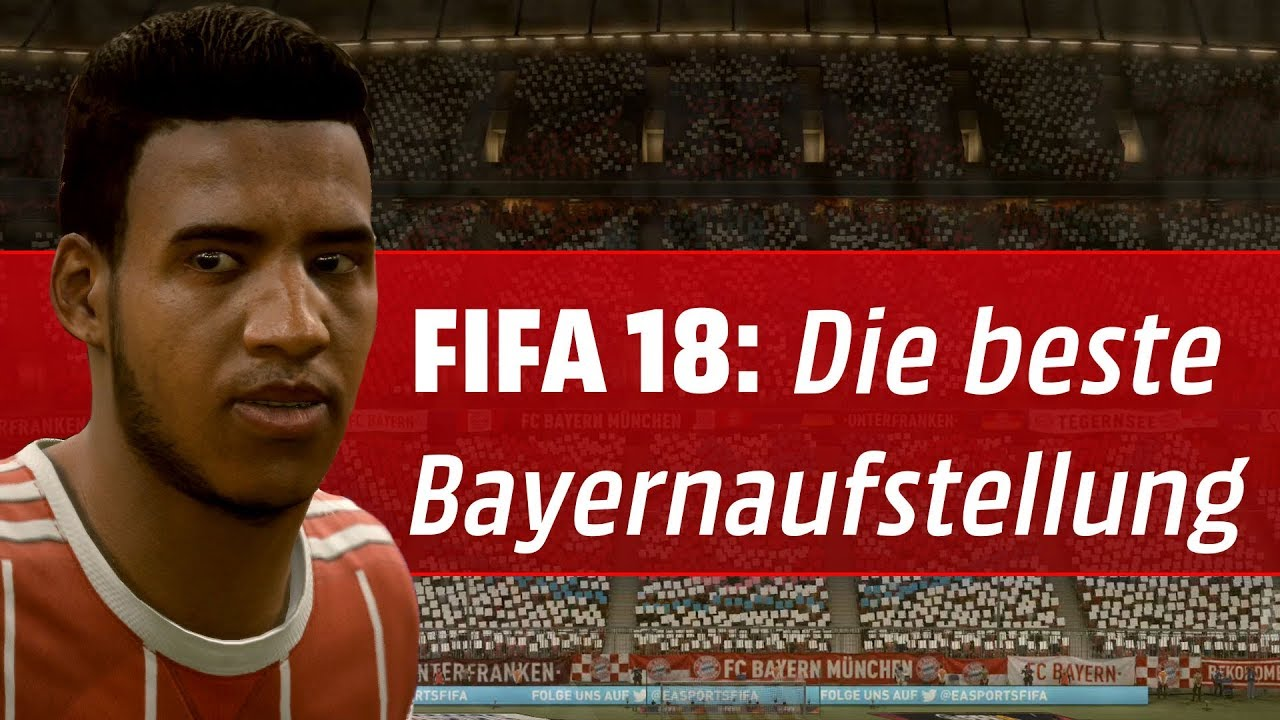 Beste Aufstellung Fifa 18