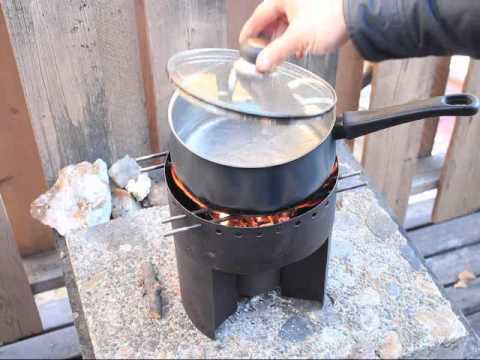 Multi Burn Biomass Cook Stove Sticks Charcoal Briquettes