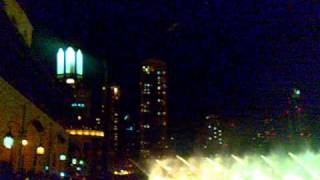 ''2011'' New Year Celebration Dubai World Largest Fountain  Dance for Indian Song.mp4