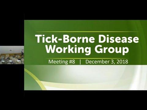 Tick-Borne Disease Working Group (TBDWG) Meeting | December 2018