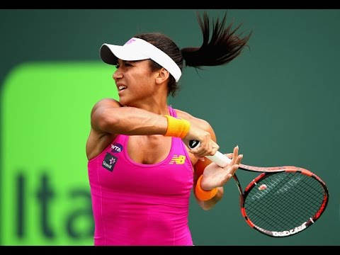 Miami Open Second Round | Heather Watson vs Sloane Stephens | WTA Highlights
