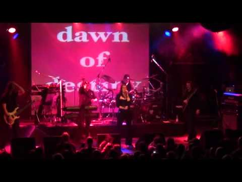 Dawn Of Destiny- Miracles (live in Bochum, Zeche 22.12.2011 on tour with Axxis)