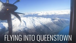 FLYING INTO QUEENSTOWN - NICEST AIRPORT IN THE WORLD? thumbnail