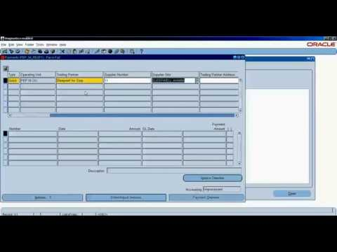 P2P full cycle with accounting impact in Oracle R12.1.3