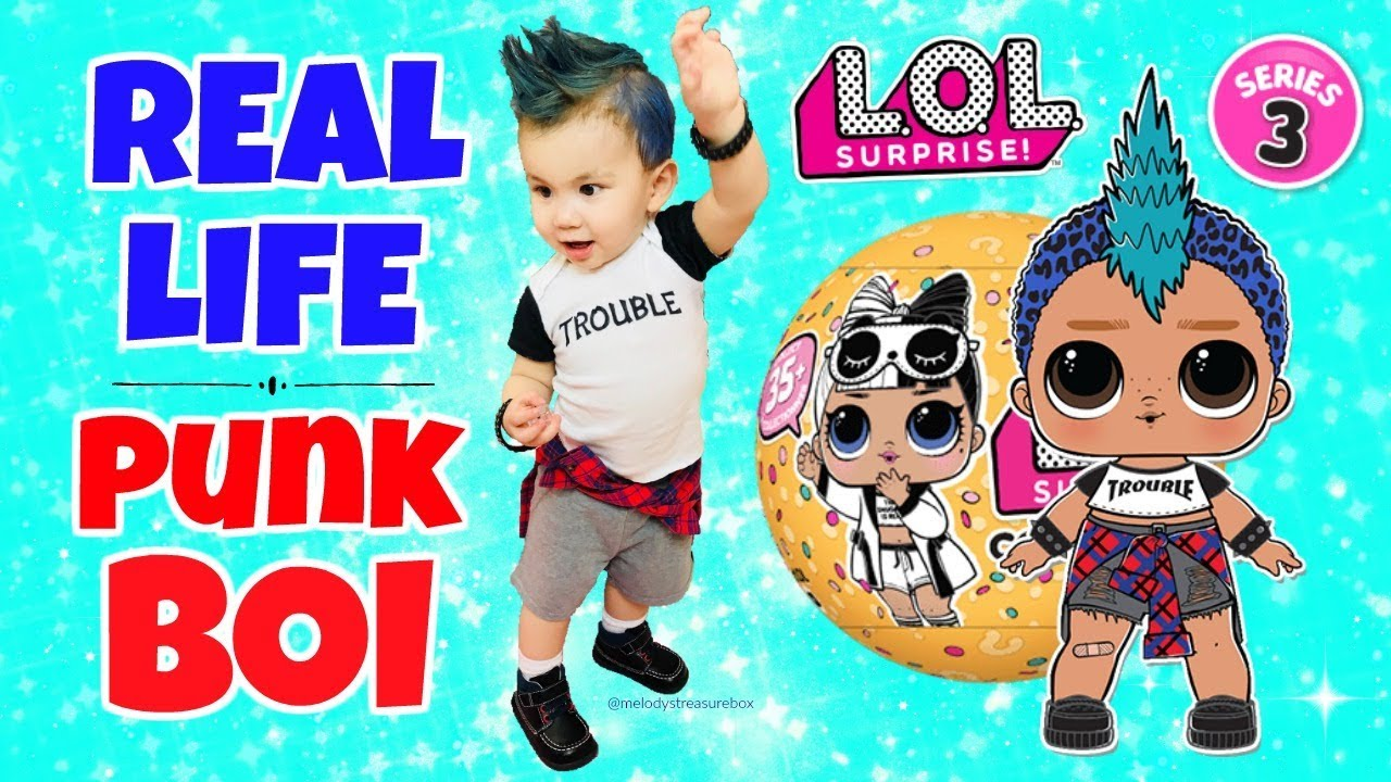 Real Life Lol Surprise Punk Boi Series 3 Wave 2 Lol
