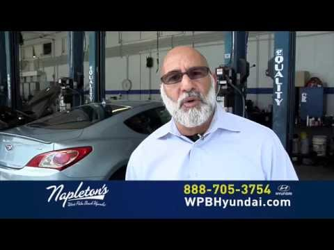 Napleton's West Palm Beach Hyundai Service Department