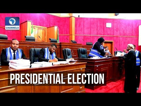 Buhari's Lawyer Shows Clip Of INEC Boss On Transmission Of Results