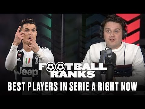 B/R Football Ranks... The Best Players in Serie A Today (with Guest Christian Vieri) [Full Episode]