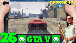 [Part 26] (GTA V) Grand Theft Auto V On Android l Gloud Games l Walkthrough Gameplay On Android/IOS