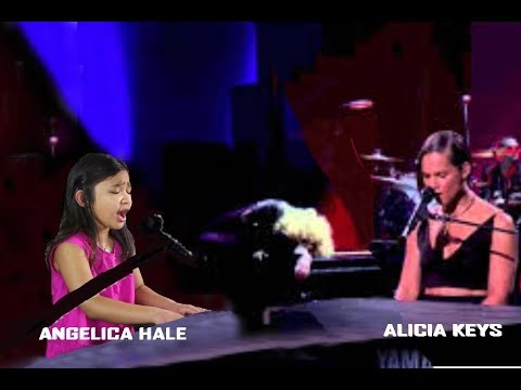 Angelica Hale and Alicia Keys -