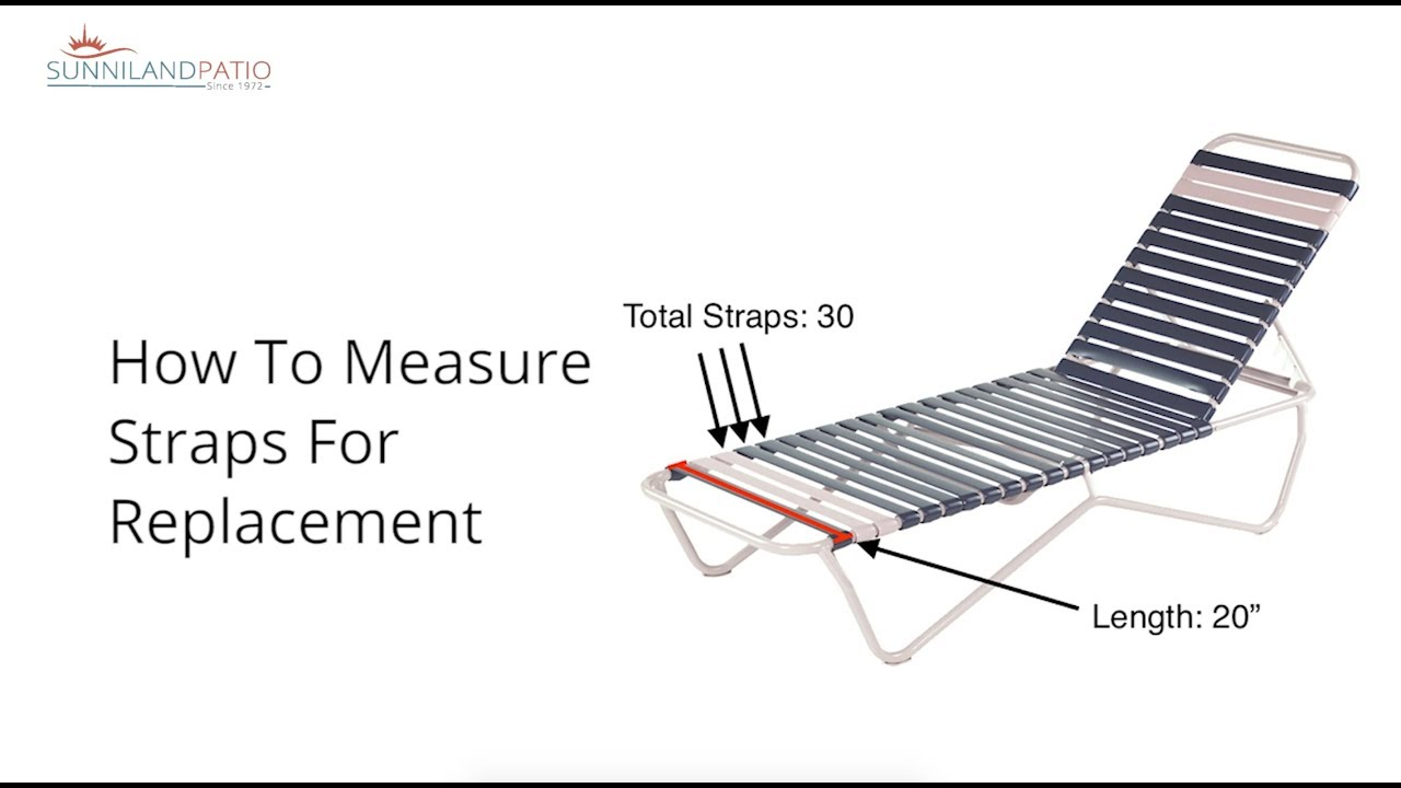 how to measure straps for replacement