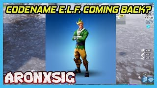 [ENG] Codename E.L.F. Coming Back Or Not? - Fortnite Battle Royale