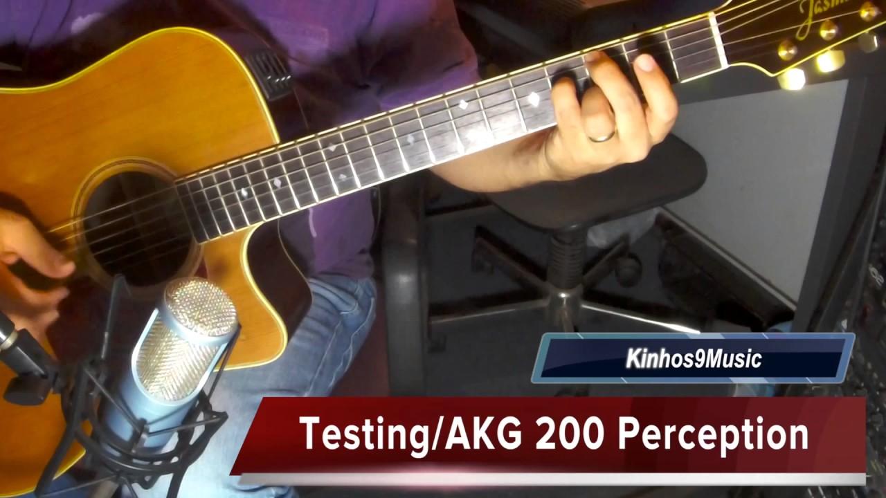 akg 200 perception steel acoustic guitar youtube. Black Bedroom Furniture Sets. Home Design Ideas