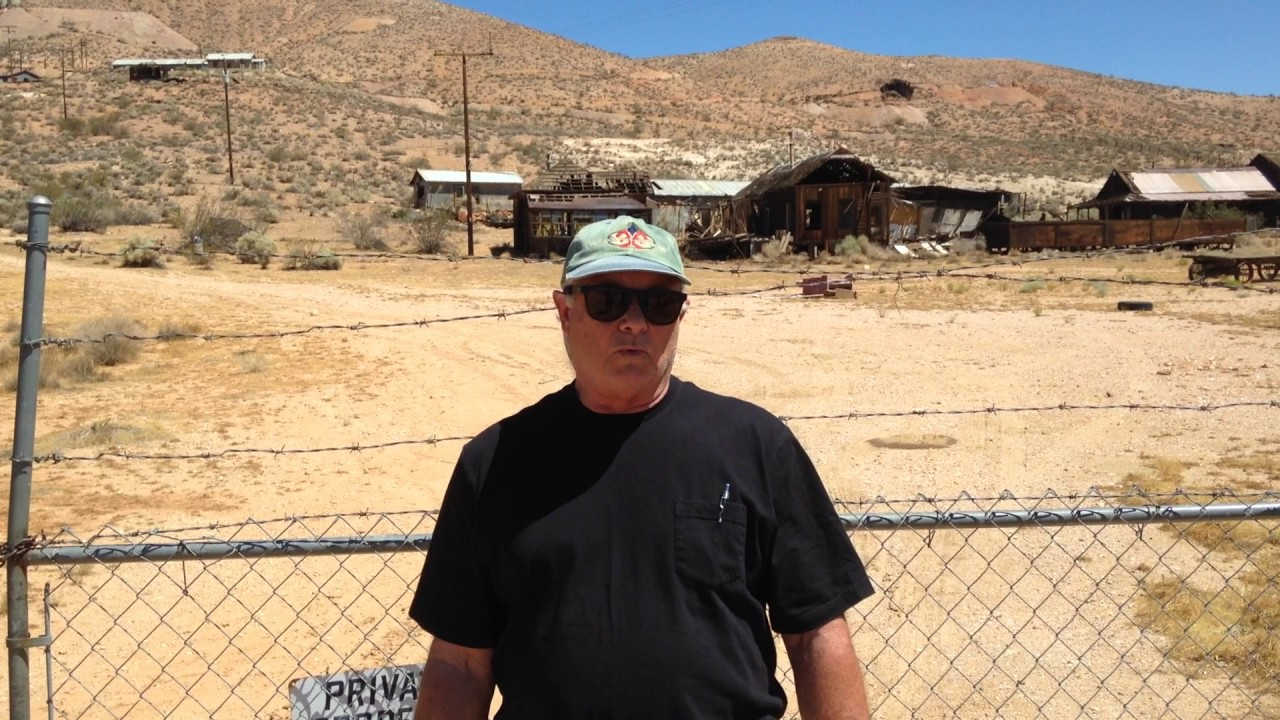 Tropico Gold Camp and Mine in Kern County
