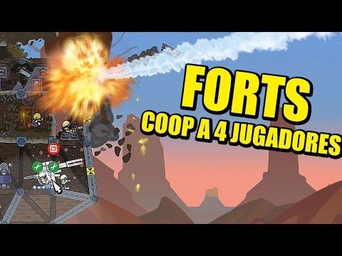 FORTS - 4 JUGADORES COOP Y DUELO DE 6 (BUCK, GENUINE, ROSGAMER Y VICIO)