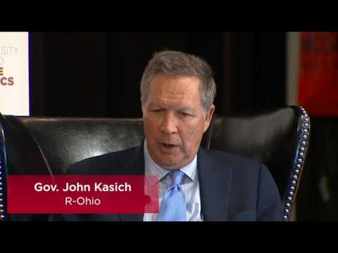 Gov. John Kasich (R-OH) in conversation with David Axelrod