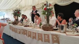 The Radford Wedding Speeches - The Father of the Bride