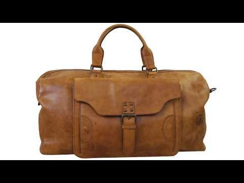 Reisetaschen Leder Braun