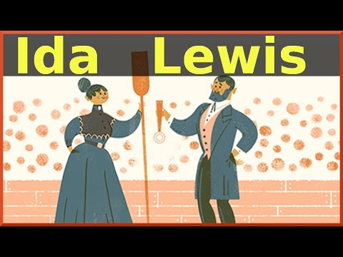 Ida Lewis Google Doodle. 175th Birthday of Brave Lighthouse Keeper | QPT