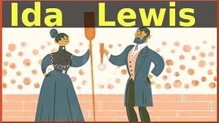 Download lagu Ida Lewis Google Doodle 175th Birthday of Brave Lighthouse Keeper QPT MP3