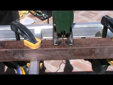 Corte madera de quebracho con sierra de calar youtube for Sierra de cortar