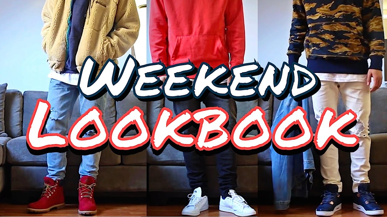 23521bf7ca5 OUTFITS OF THE WEEKEND! ADIDAS - TIMBERLAND - AIR JORDAN - MEN S FASHION  LOOKBOOK - YouTube