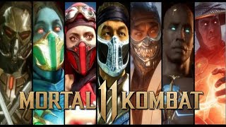 Mortal Kombat 11 ALL NEW Fatalities and Brutalities