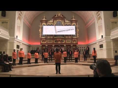 University of Johannesburg Choir, South Africa - UNIVERSITAS CANTAT 2015