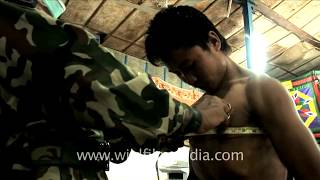 Chest and height measurements: Choosing the best men for Indian Army