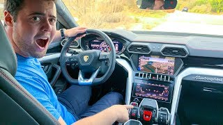 5 INSANE FEATURES OF THE LAMBORGHINI URUS
