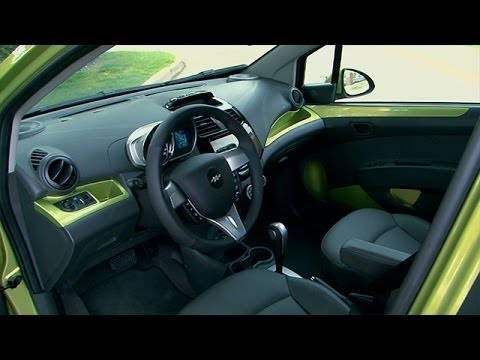 2014 chevrolet spark interior review