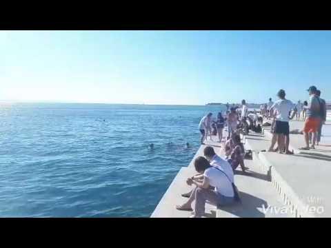 Listen to the Sea Organ (Morske orgulje) - Zadar, Croatia
