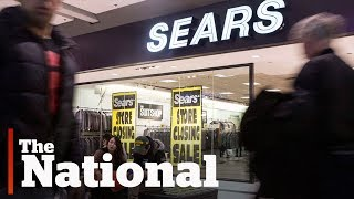 Sears Canada closing stores, slashing jobs