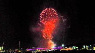 1 January 2016 Fireworks in Melbourne Docklands