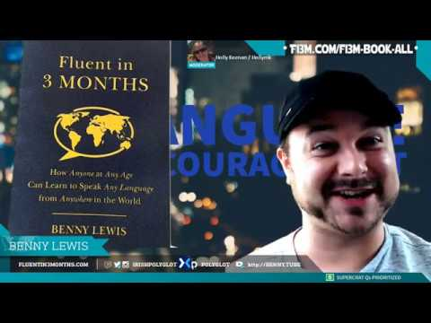 📖 Book reading and Q&A: Fluent in 3 Months, published by HarperCollins (replay: originally live)
