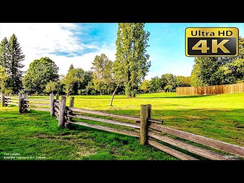 4K Fort Langley  British Columbia Canada