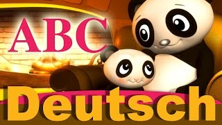 ABC Lied | Kinderlieder | LittleBabyBum