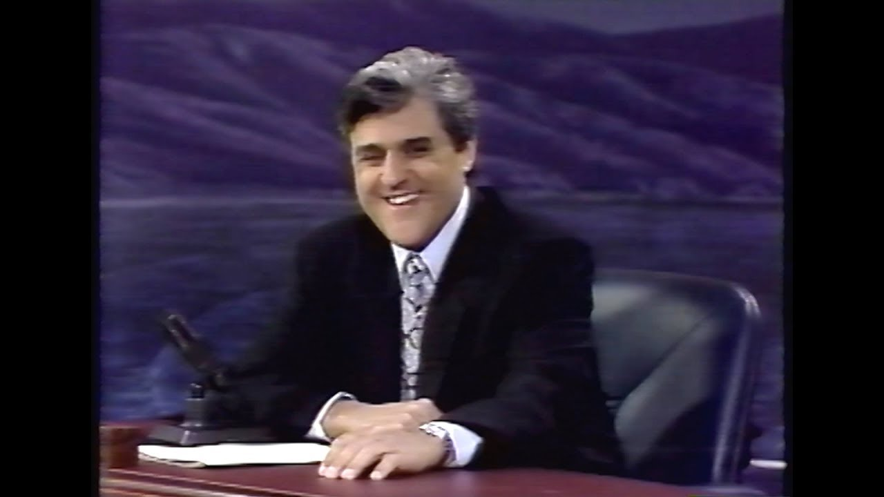 Tonight Show with Jay Leno - First Episode - 5/25/92 - YouTube