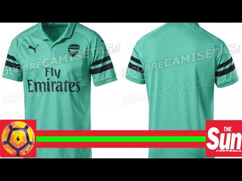 c43285bacfc Arsenal launch new turquoise third kit for 2018 19 season and it has not  gone down well with fans