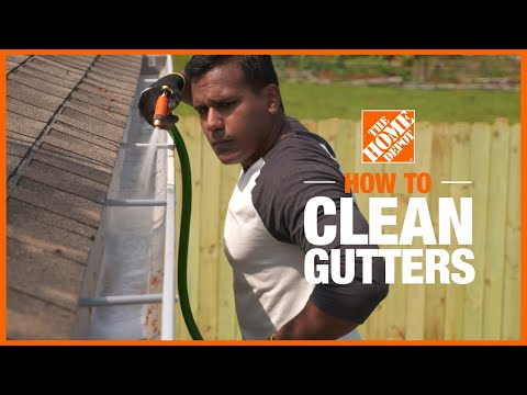 How to Clean Gutters | Cleaning Tips | The Home Depot