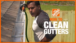 How to Clean Guтters | Cleaning Tips | The Home Depot