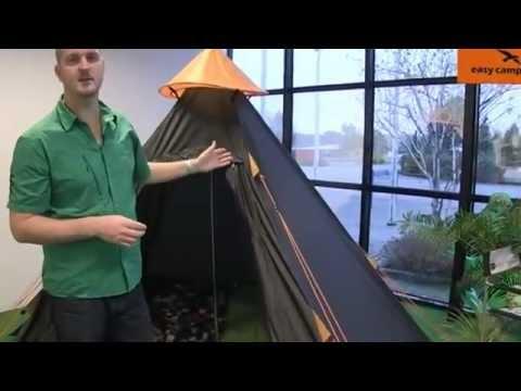 Easy C& Tipi Tent - C&ingWorld.co.uk  sc 1 st  YouTube & Easy Camp Tipi Tent - CampingWorld.co.uk - YouTube