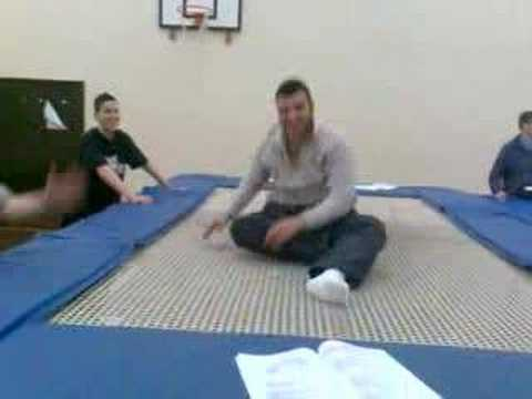 Eylem Mindicoglu National Trampolining Champion