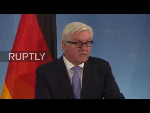 Germany: Steinmeier meets Qatari FM to talk Syria and Iraq conflicts