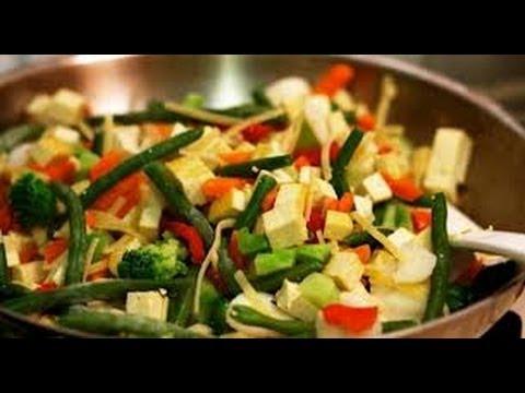 Salteado de verduras y arroz light con mucho sabor youtube - Arroz con verduras light ...