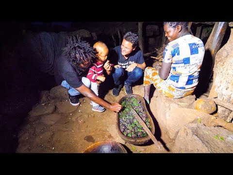 Ethiopian Food in 500 YEAR OLD Konso Village in Ethiopia - AMAZING AFRICAN CULTURE! thumbnail